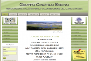 Gruppo Cinofilo Sabino